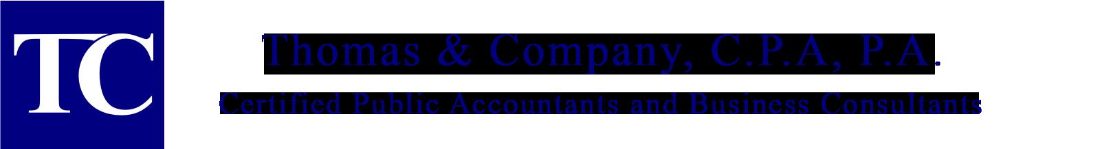 Thomas & Company, C.P.A., P.A.